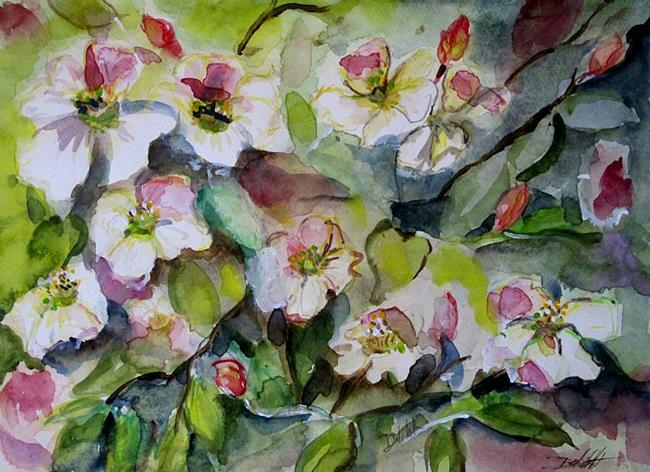 Art: Spring Blossoms by Artist Delilah Smith