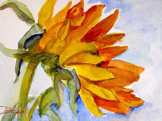 Art: Sunflower by Artist Delilah Smith