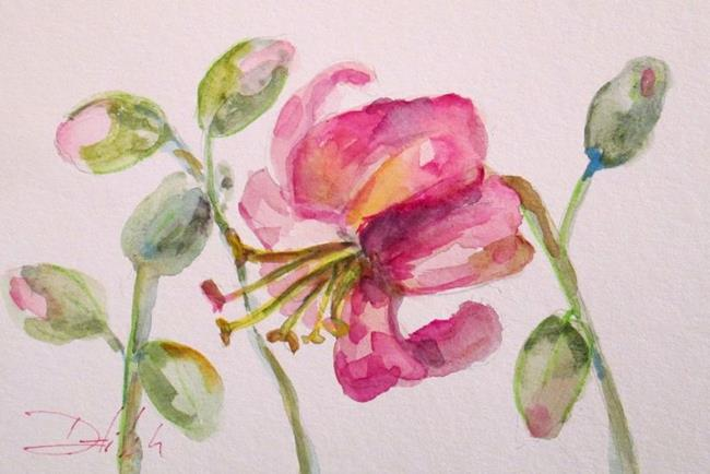 Art: Pink Lilly by Artist Delilah Smith