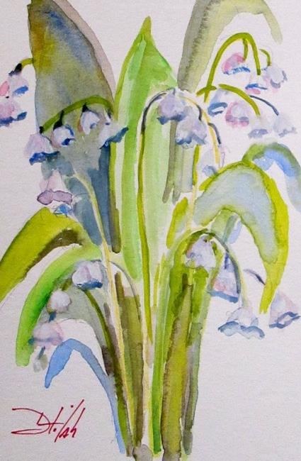 Art: Spring Lily by Artist Delilah Smith