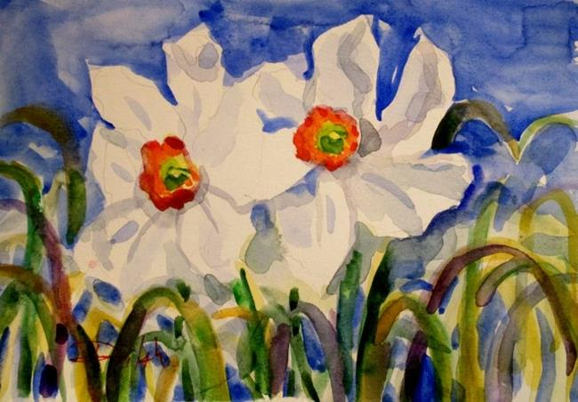 Art: Narcissus by Artist Delilah Smith