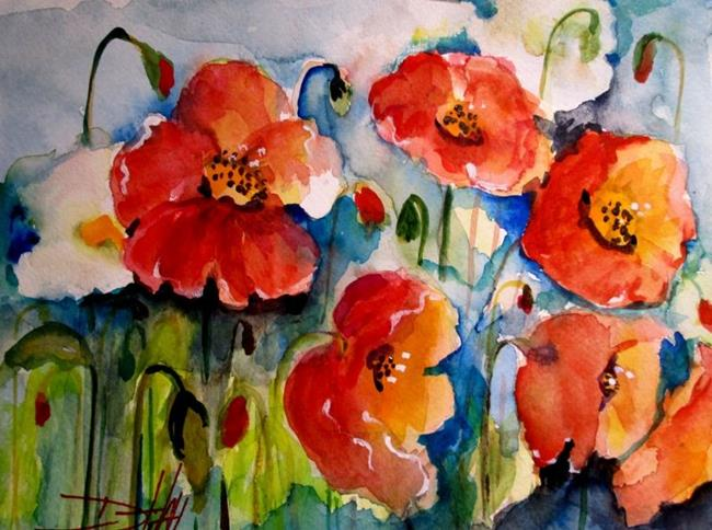Art: Poppies No. 6 by Artist Delilah Smith