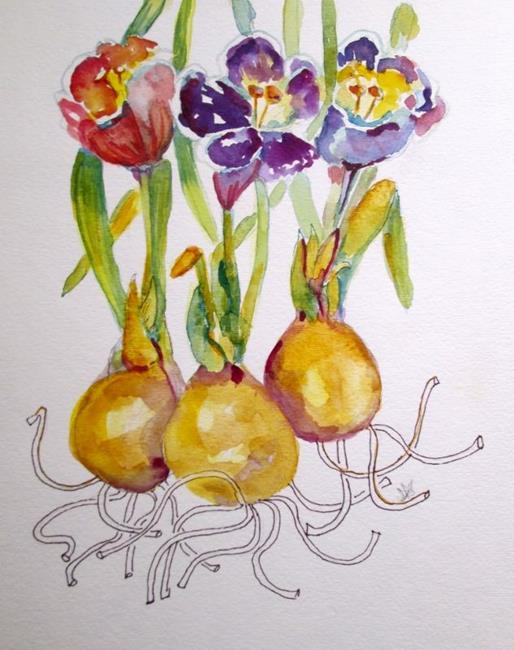 Art: Crocus No. 2 by Artist Delilah Smith