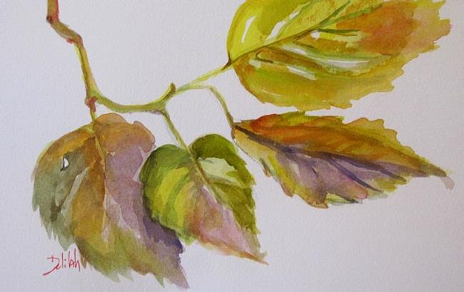 Art: Fall Beauty-sold by Artist Delilah Smith