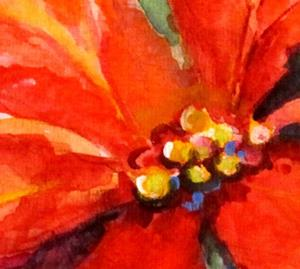 Detail Image for art Poinsettia