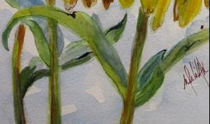 Detail Image for art Cone Flowers