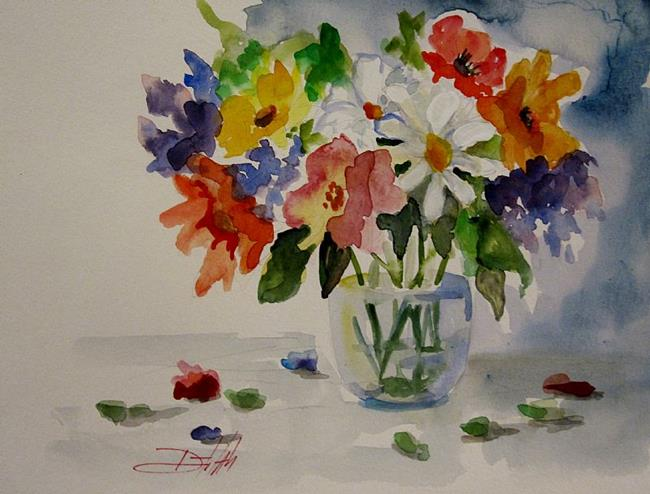 Art: Spring Flowers by Artist Delilah Smith