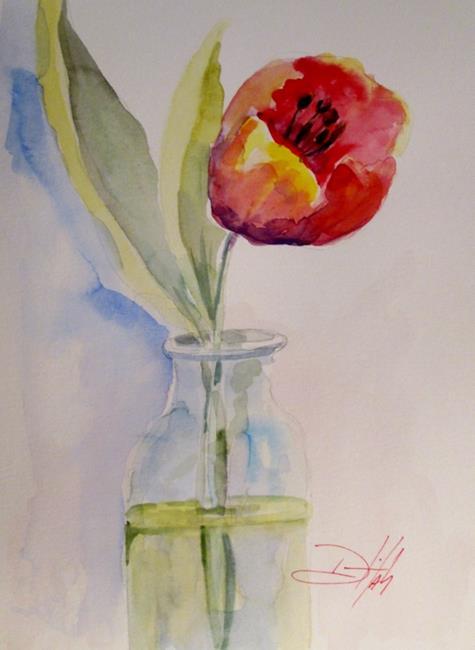 Art: Spring by Artist Delilah Smith
