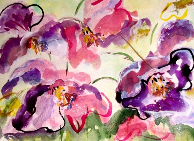 Art: Trilliums by Artist Delilah Smith