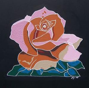 Detail Image for art Mosaic Rose