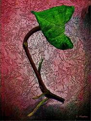 Art: Leaf  by Artist Deanne Flouton