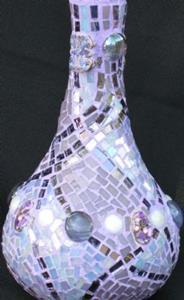 Detail Image for art Genie Bling Bottle (sold)
