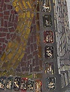 Detail Image for art Zodiac Bottle (sold)