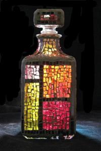 Detail Image for art Color Block Bottle (available)