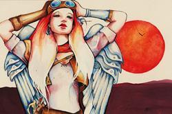Art: Breakers Angel by Artist Nico Niemi