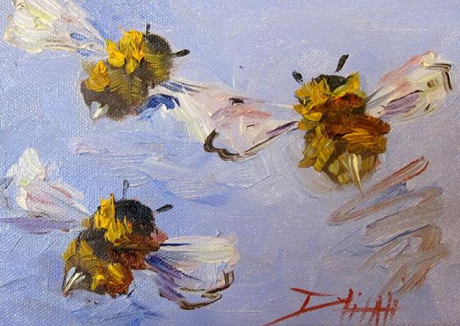 Art: The Buzz by Artist Delilah Smith