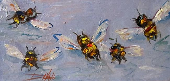 Art: Bees Knees No.9 by Artist Delilah Smith