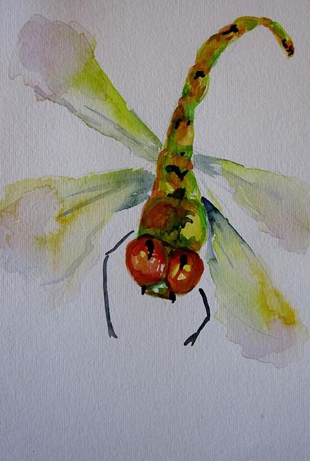 Whimsical dragonfly drawings - photo#7