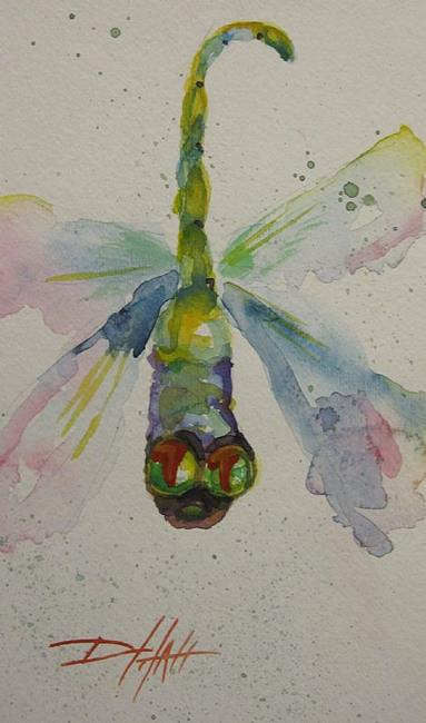 Art: Dragonfly No. 4 by Artist Delilah Smith