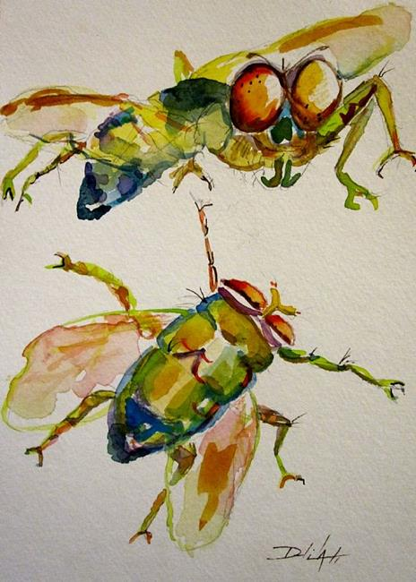 Art: Flies by Artist Delilah Smith