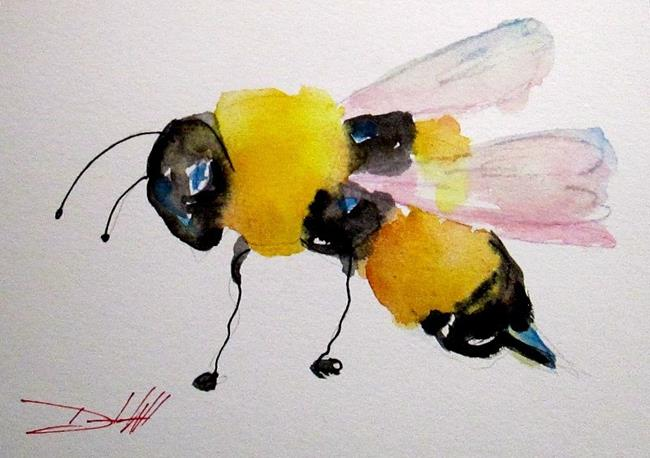 Art: Bumble Bee by Artist Delilah Smith