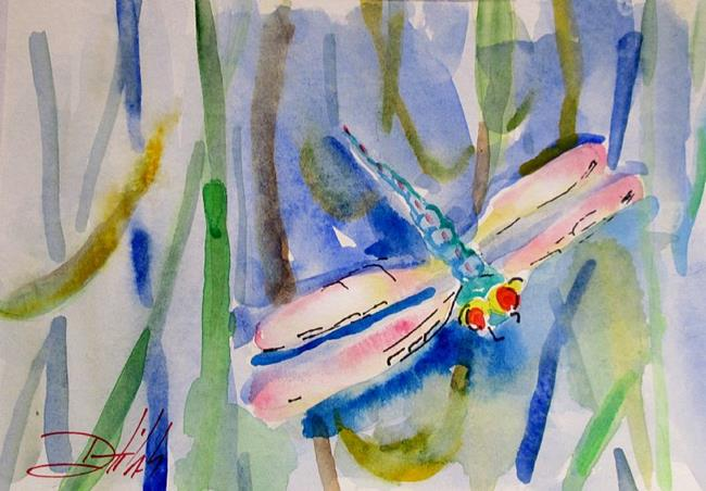 Art: Dragonfly No.4 by Artist Delilah Smith