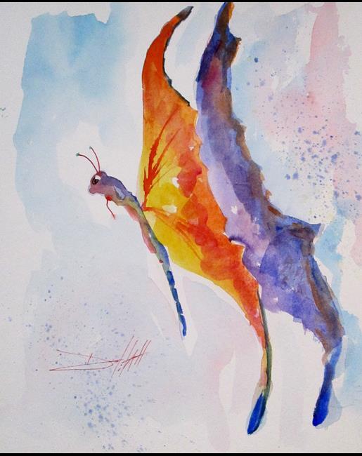 Art: Butterfly by Artist Delilah Smith