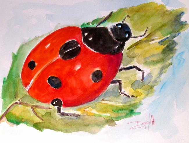 Art: Mr Ladybug by Artist Delilah Smith