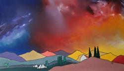 Art: Northern Skies by Artist Martin Devine