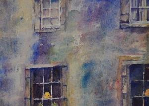 Detail Image for art Edinburgh Tenement Windows