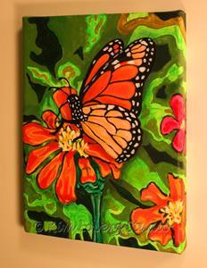 Detail Image for art A Splash of Orange