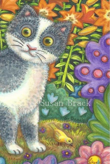 Art: BLANK  Note Card by Artist Susan Brack