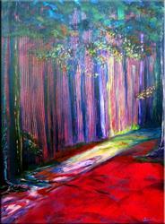 Art: Redwood Trails - C1 by Artist Thomas C. Fedro