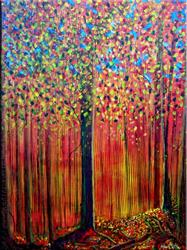 Art: Fall in Autumn - C2 by Artist Thomas C. Fedro