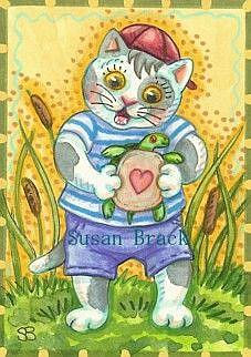 Art: LITTLE TOM by Artist Susan Brack