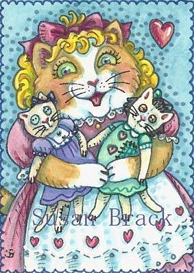 Art: BEST FRIENDS by Artist Susan Brack