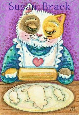 Art: MOUSE DOUGH by Artist Susan Brack