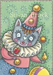 Art: CAT TRICKS by Artist Susan Brack