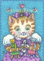 Art: PLAY DATE WITH FRIENDS by Artist Susan Brack