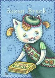 Art: COOKIES FOR SALE by Artist Susan Brack