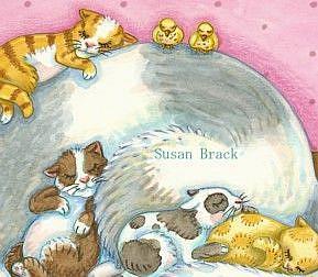 Art: CAT NAPZZZZZ crop by Artist Susan Brack