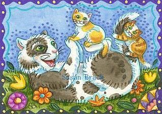 Art: TOPSY TURVY by Artist Susan Brack