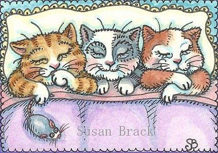 Art: SWEET DREAMS by Artist Susan Brack