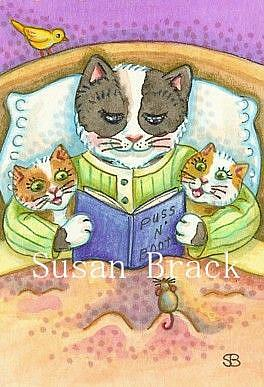 Art: BEDTIME STORY by Artist Susan Brack