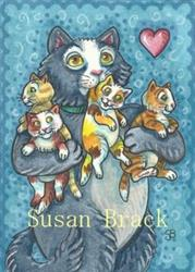Art: MOTHER'S KIT AND CABOODLE by Artist Susan Brack