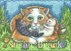 Art: MOMMA'S BOYS by Artist Susan Brack