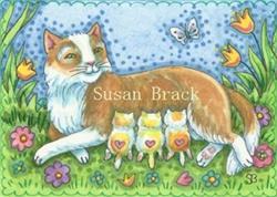 Art: FUR BABIES by Artist Susan Brack