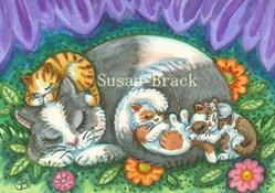 Art: SWEET DREAMS IN THE GARDEN by Artist Susan Brack