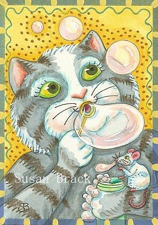 Art: BUBBLES by Artist Susan Brack