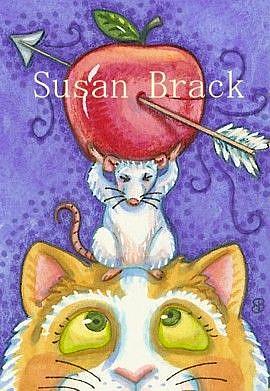 Art: WILLIAM TELL HAD A CAT by Artist Susan Brack